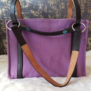 💯% AUTH Hermes Toile Cabalicol Tote Bag